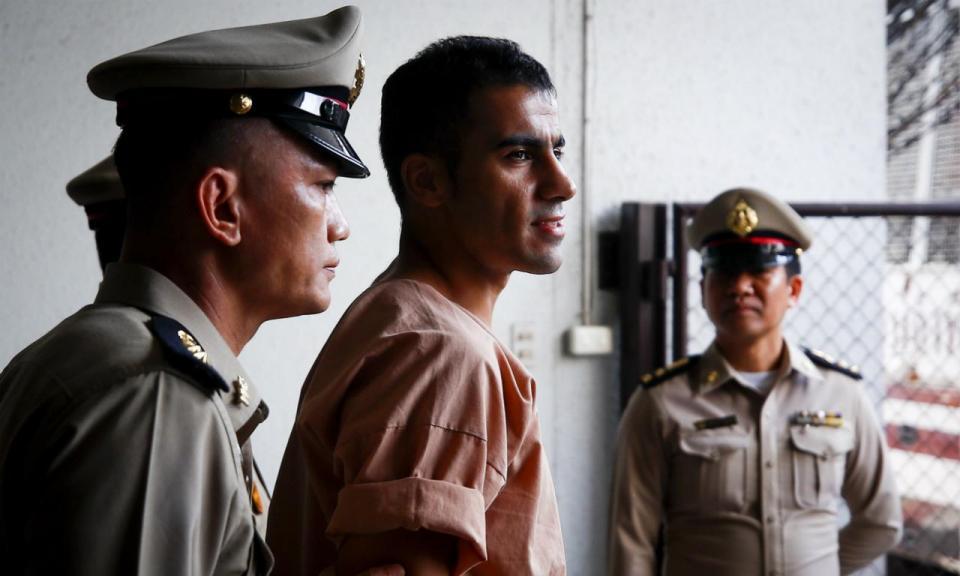Tailândia liberta jogador do Bahrein após 70 dias