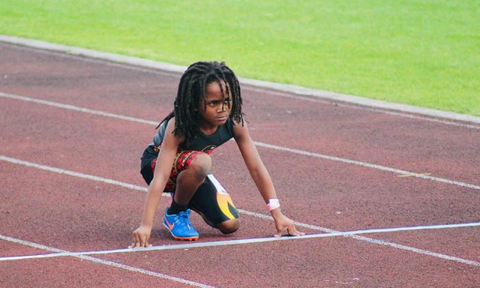 VÍDEO: só tem sete anos, mas já lhe chamam o novo Bolt