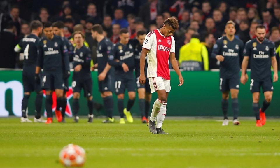 Champions: Ajax sonha até chocar com o pragmatismo do Real