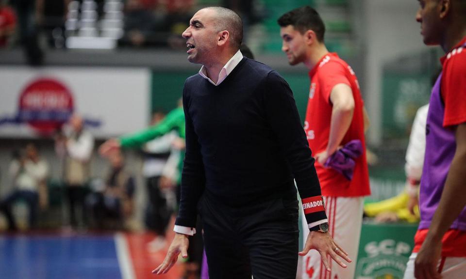 Futsal: Benfica goleou Modicus e reforçou liderança