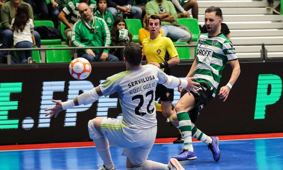 Futsal: três «portugueses» na seleção do Brasil