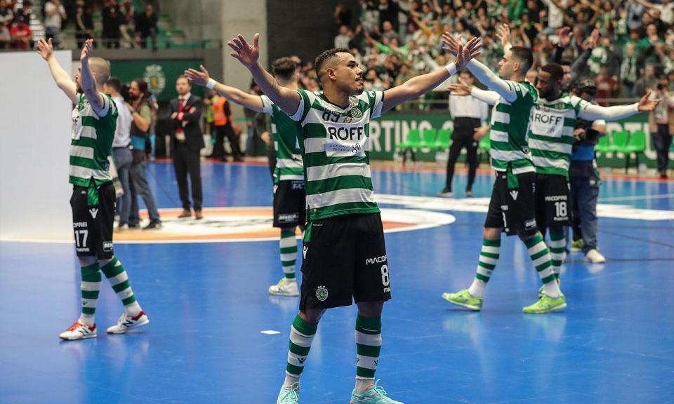 Futsal: Sporting vence com reviravolta e hat-trick de Dieguinho