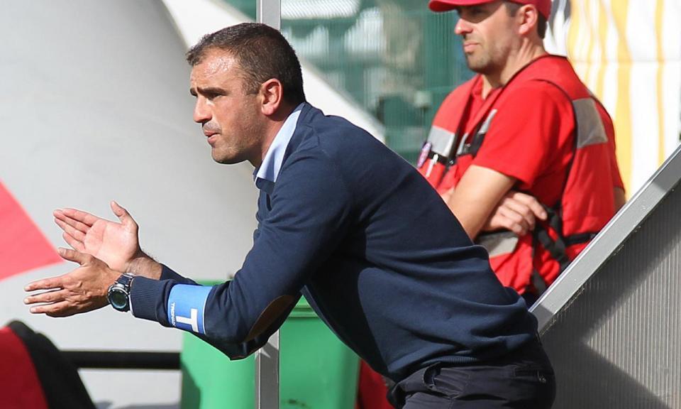 Filipe Martins: «Não tenho nada a apontar aos jogadores»