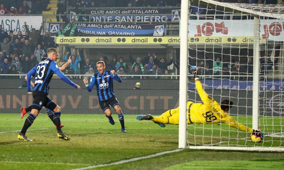 Itália: Atalanta faz 47 (!) remates num jogo mas empata sem golos