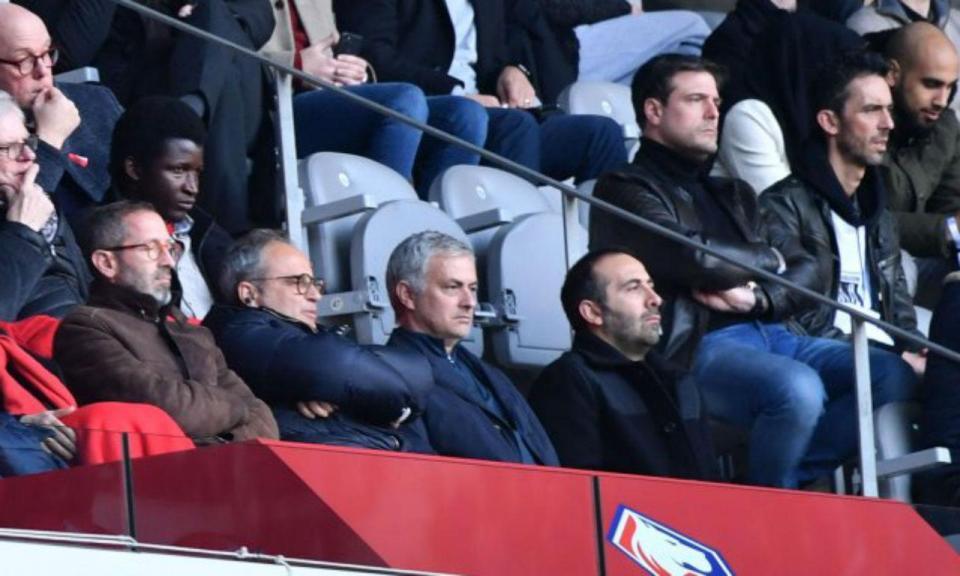 Mourinho foi ver o Lille: «Trabalhar num novo campeonato seria fantástico»