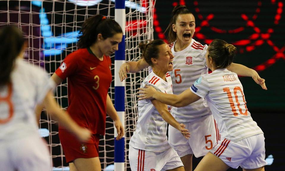 Futsal: seleção feminina sofre derrota pesada na final do Europeu