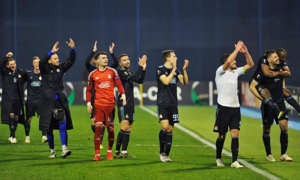 Dínamo empata no dérbi de Zagreb antes de receber o Benfica