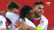 Monaco vence Lyon com golos de Rony e Gelson