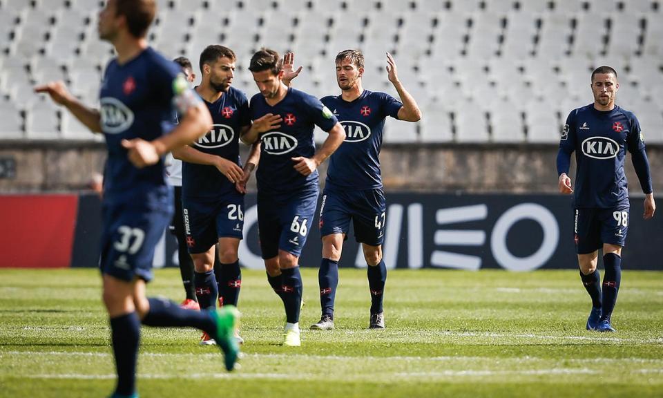 «Com toda a certeza jogaremos frente ao Benfica sem a cruz de Cristo»