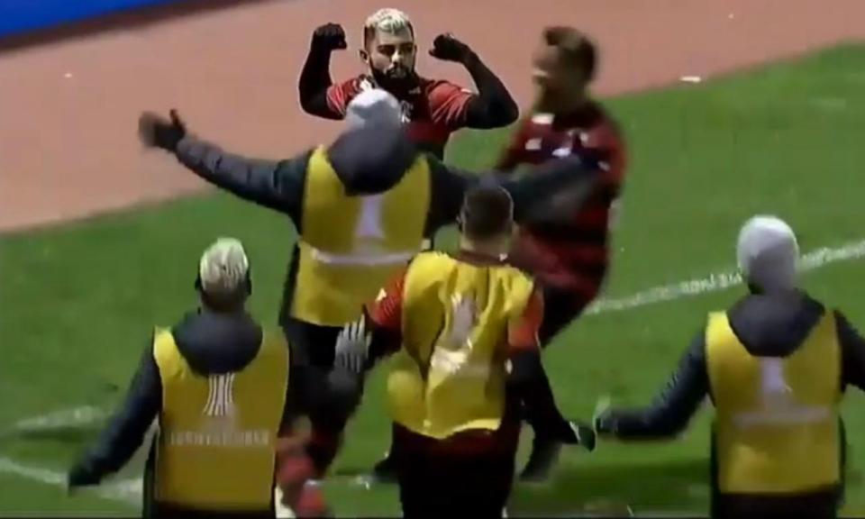 VÍDEO: Gabigol dá a vitória ao Flamengo a 3.750 metros de altitude