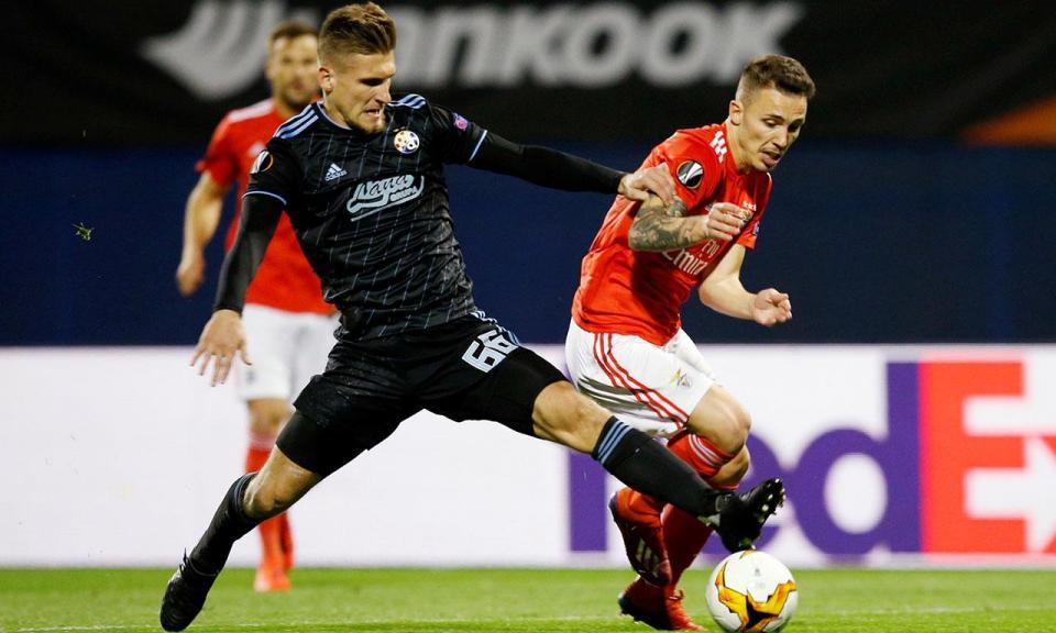 Benfica: árbitro alemão no jogo com o Dinamo de Zagreb