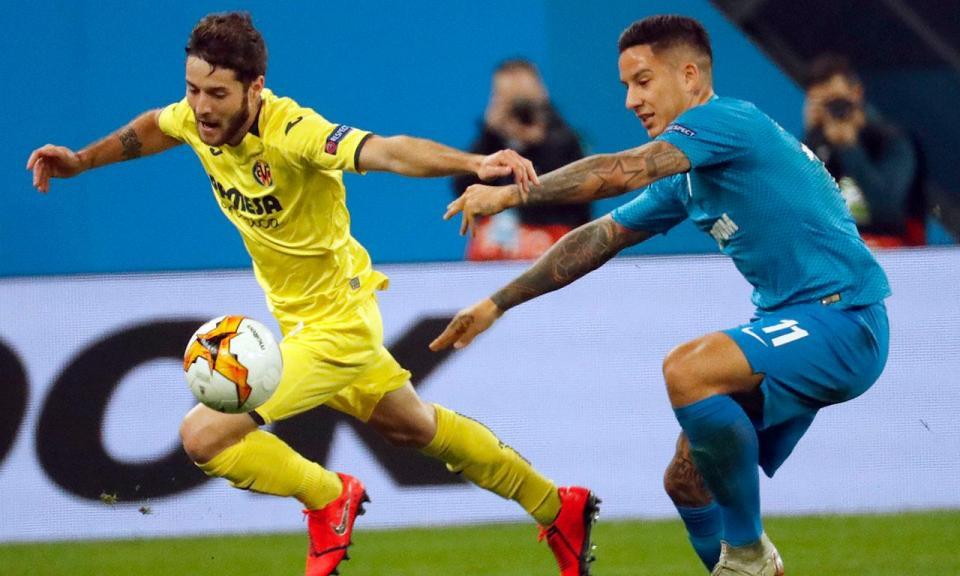 Liga Europa: Villarreal sai da Rússia com um pé e meio nos quartos