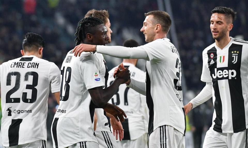 Itália: sem Ronaldo, Juventus goleia com «bis» de Moise Kean