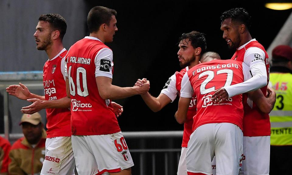 Sp. Braga-V. Guimarães, 1-0 (destaques)