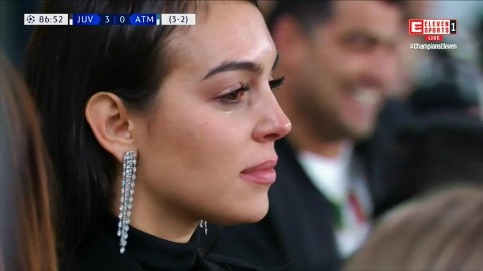 Aquelas lágrimas de Georgina