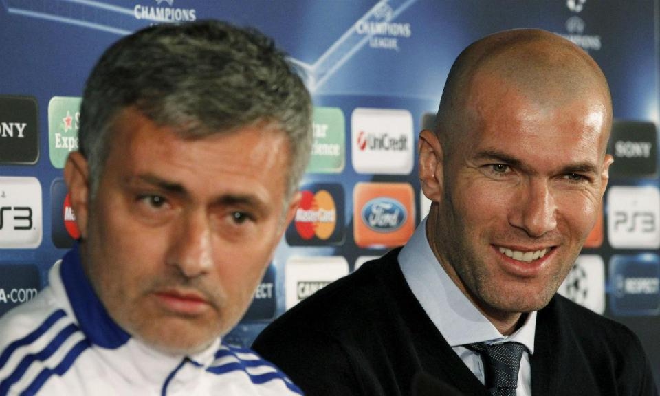Mourinho: «Regresso de Zidane ao Real Madrid é perfeito»