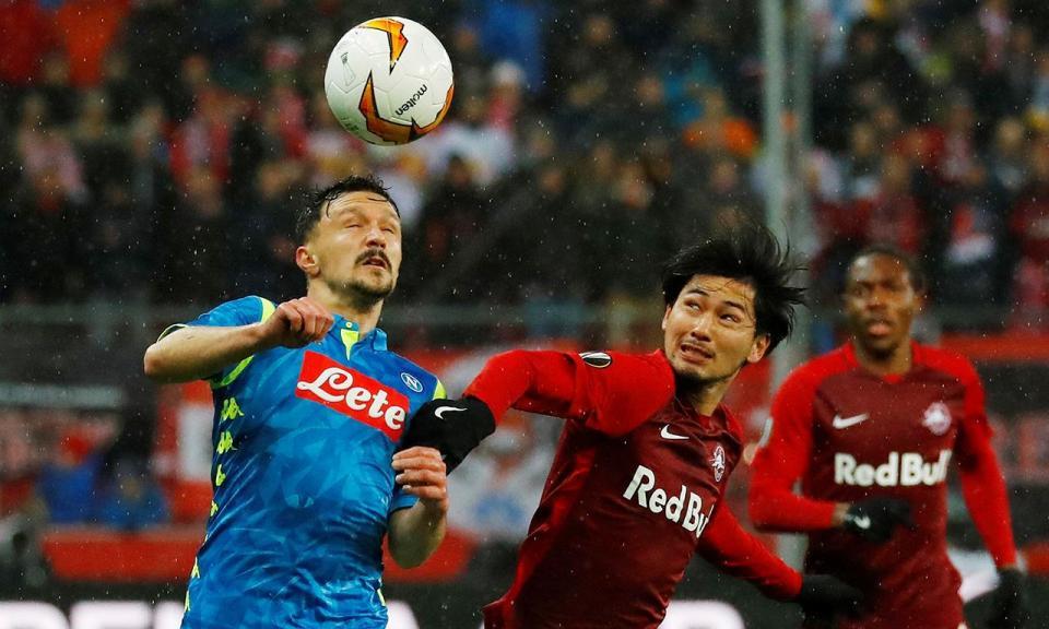 Liga Europa: Nápoles perde na Áustria, mas segue em frente