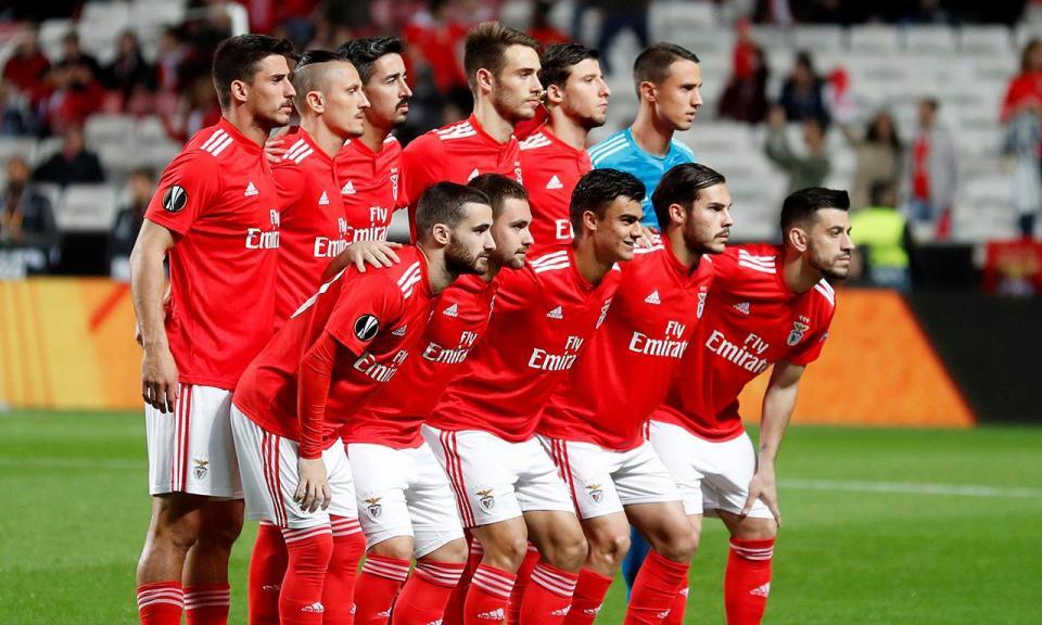 Liga Europa: Benfica domina equipa ideal da semana