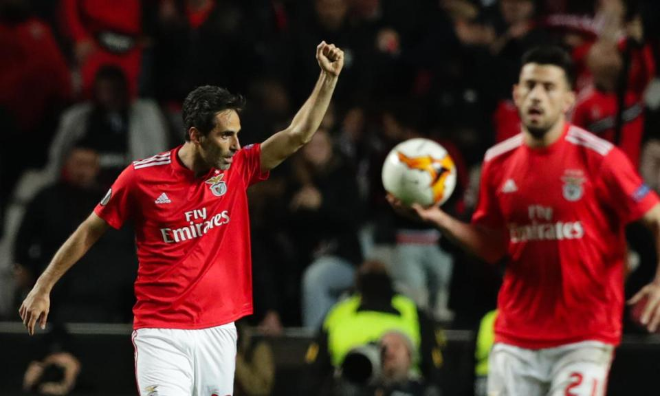 Liga Europa: Jonas candidato a jogador da semana