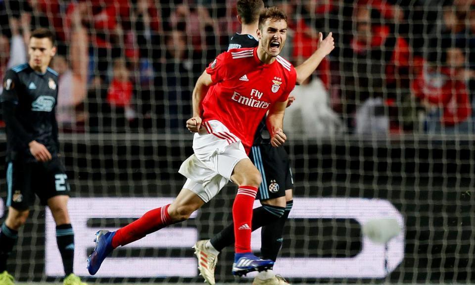 Liga Europa: Benfica-Dínamo Zagreb, 3-0 a.p. (resultado final)
