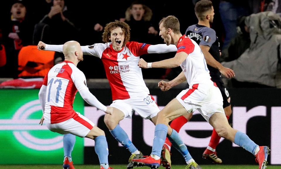 Liga Europa: Slavia Praga arruma Sevilha com 4-3 no prolongamento