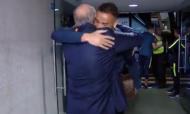 Pinto da Costa recebeu seleção brasileira com abraços especiais