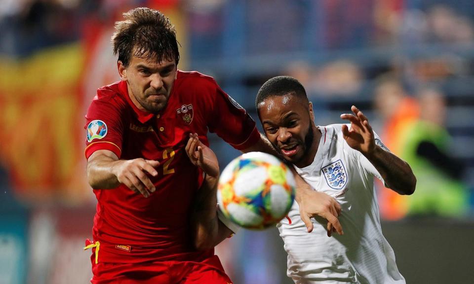 Sterling marcou ao Montenegro: «É a melhor maneira de silenciar racistas»