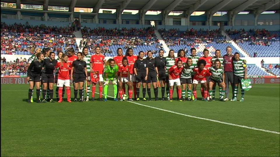 Benfica-Sporting estabelece novo recorde de assistência no futebol feminino