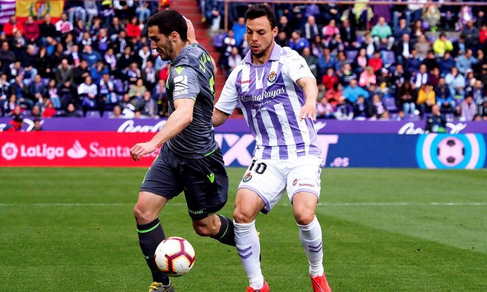 Espanha: Real Sociedad empata em Valladolid