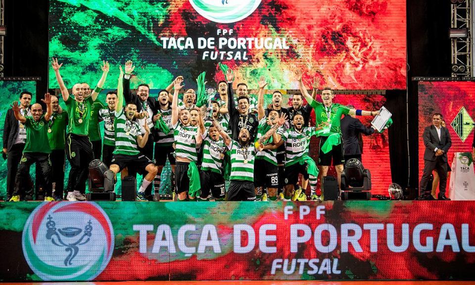 Futsal: Sporting iguala Benfica em números de troféus