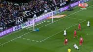 VÍDEO: Guedes encheu o pé e fez o 1-0 no Valência-Real Madrid