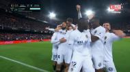 Garay fez o segundo do Valencia ao Real Madrid