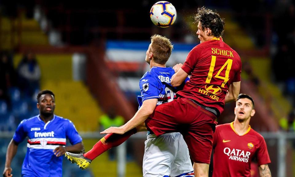 Itália: golo do capitão De Rossi vale triunfo da Roma sobre a Sampdoria