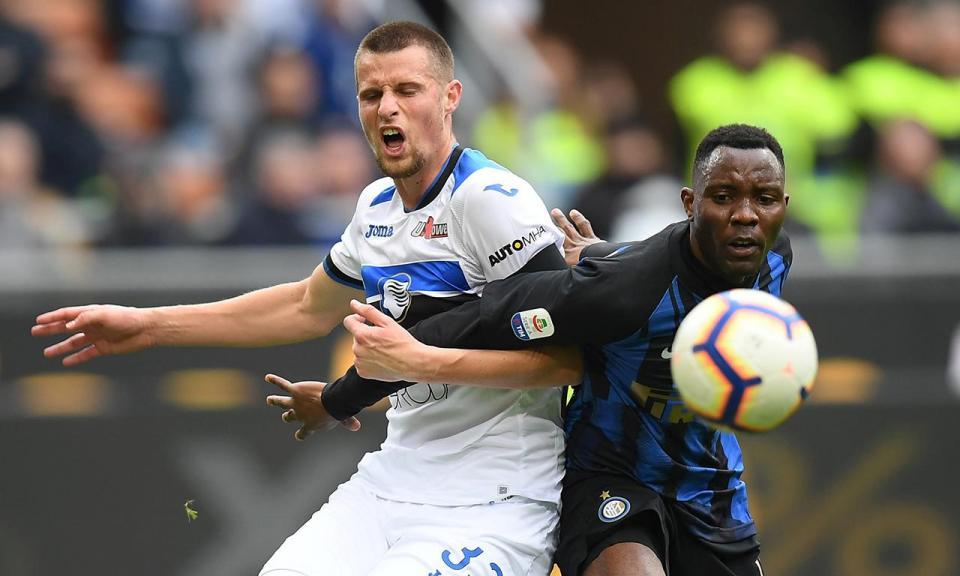 Itália: Inter travado em casa pela Atalanta