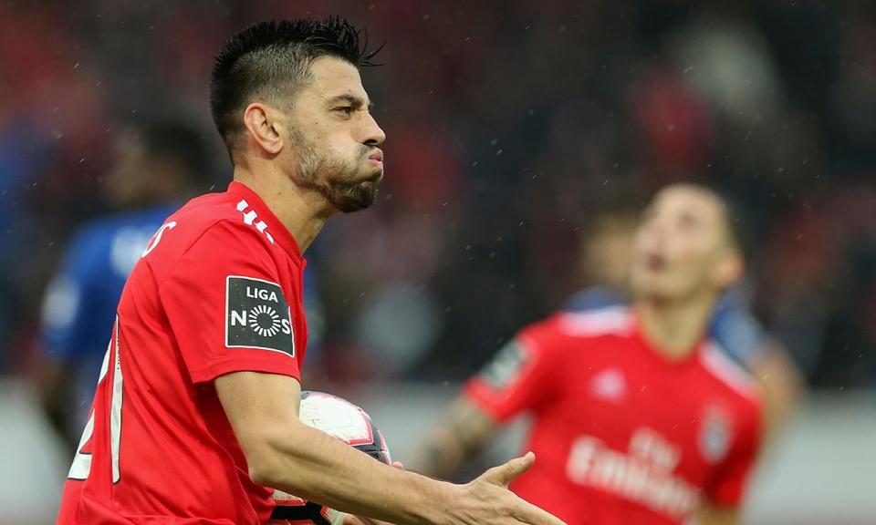 VÍDEO: Pizzi faz o terceiro do Benfica a passe de Grimaldo