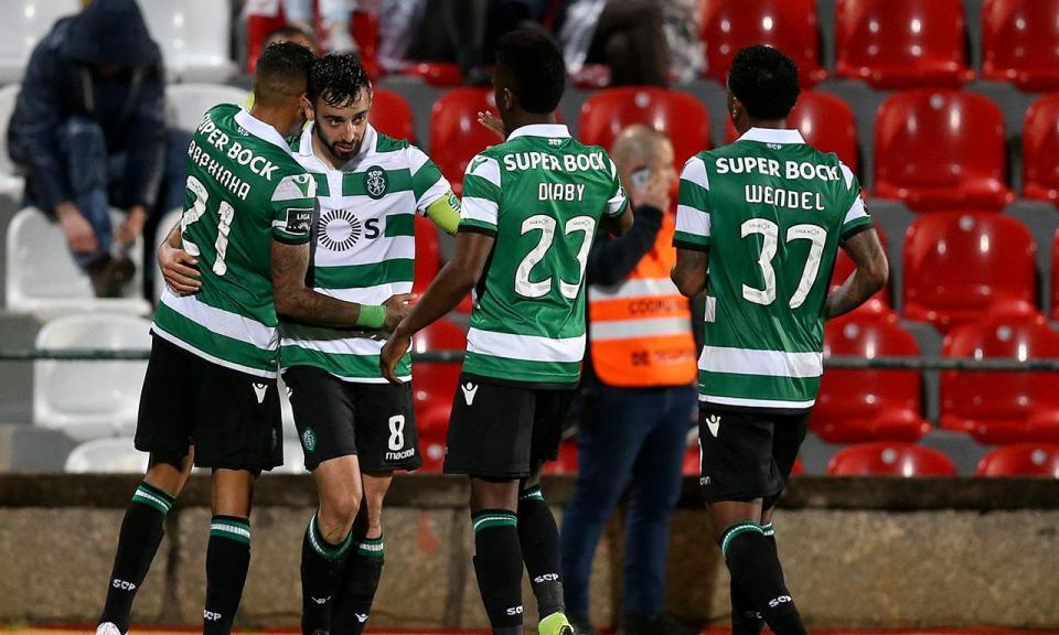 Bruno Fernandes diz que golo de Luiz Phellype nasceu... de um vídeo