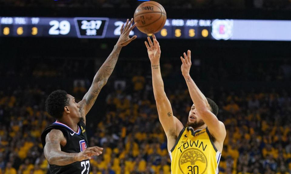 Warriors permitem maior reviravolta da história dos play-offs da NBA