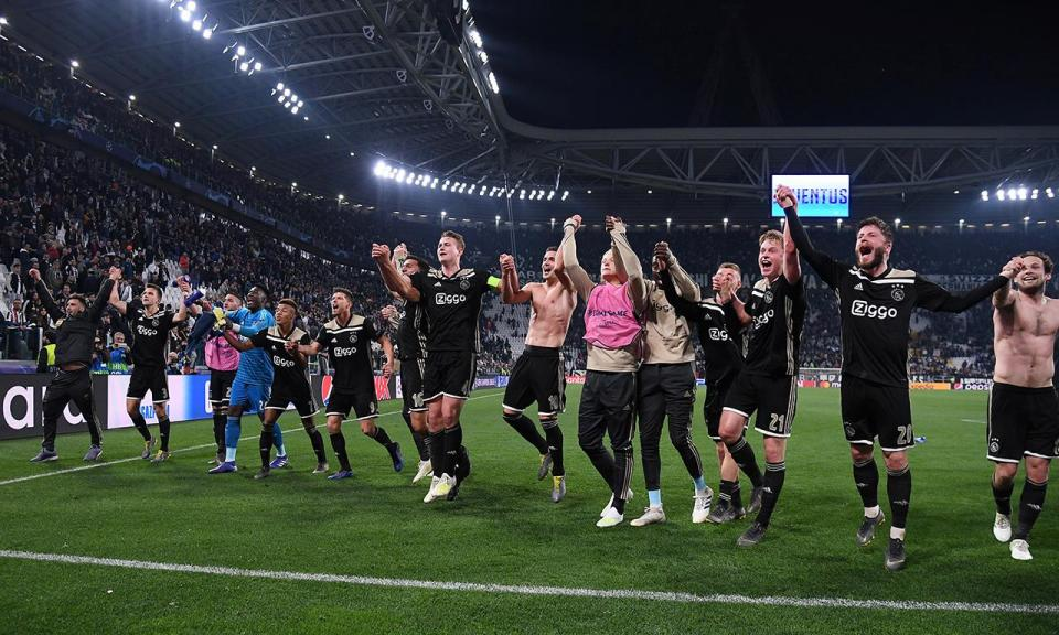 Ajax: da 2.ª pré às «meias» e história com Real e Juve à mistura