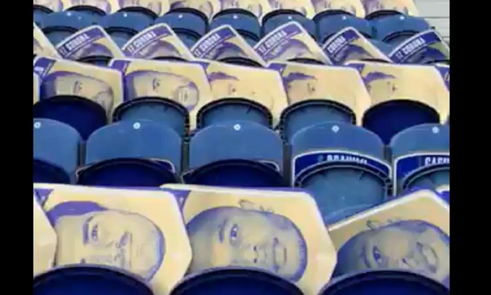 VÍDEO: a mega coreografia que o FC Porto prepara para esta noite