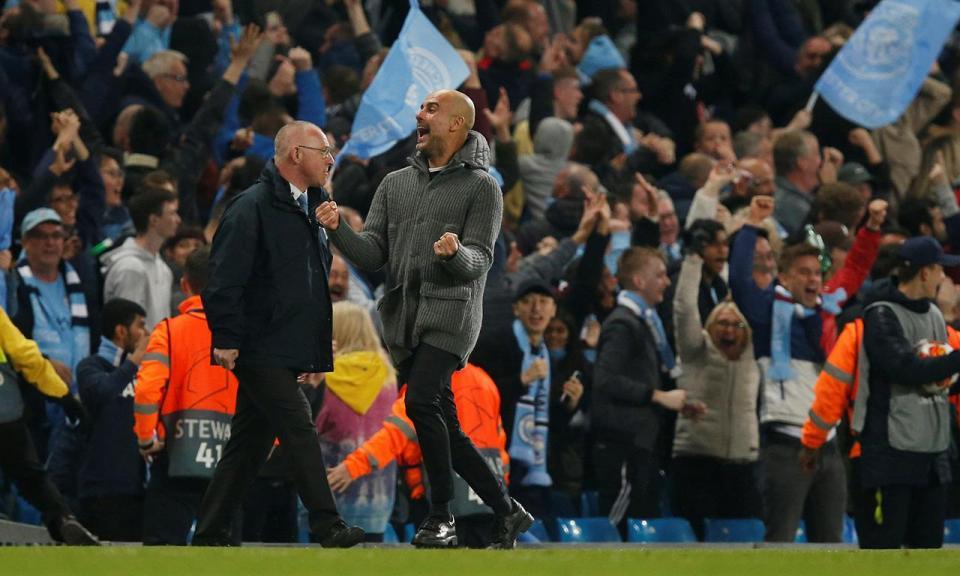 Guardiola usa o Tottenham para aula de amor ao futebol com emoção