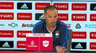 «É uma derrota pesada e praticamente oferecemos os golos ao Benfica