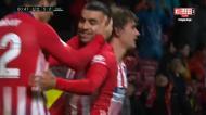 O golaço de Correia que decidiu o Atlético Madrid-Valência