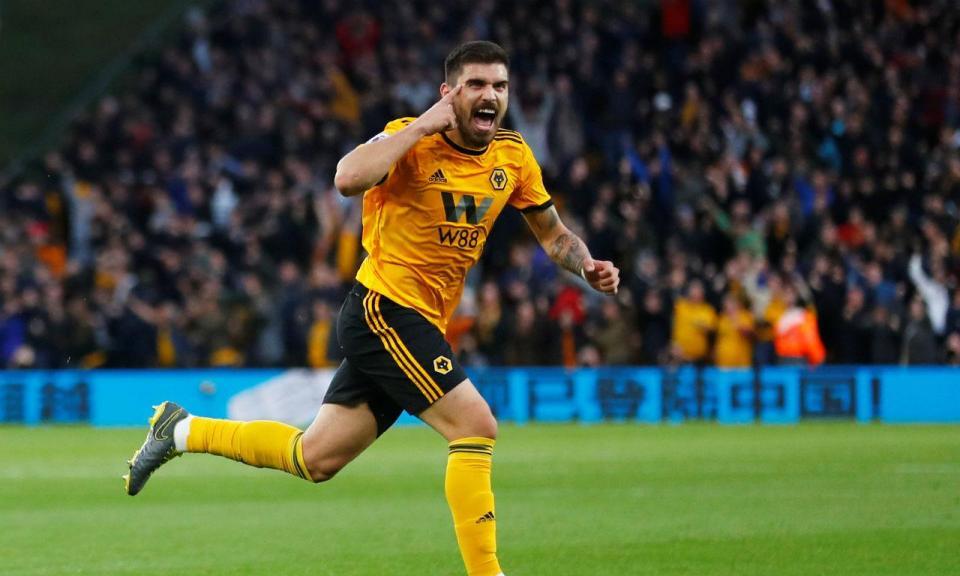 Wolverhampton derrota Arsenal com golos de Rúben Neves e Jota