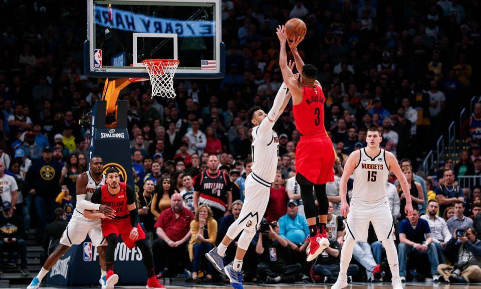 NBA: Blazers batem Nuggets e vão defrontar Warriors na final de Oeste