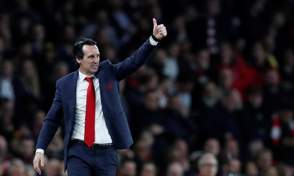 Emery: «A eliminatória continua a estar 50-50»