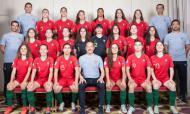 Portugal no Euro sub-17 feminino (foto: FPF)