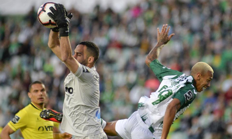 VÍDEO: a enorme defesa de Bracali que negou o 4-3 ao Sp. Braga