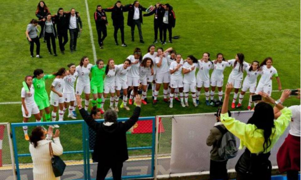 Europeu feminino sub-17: Portugal vence Dinamarca e está nas «meias»