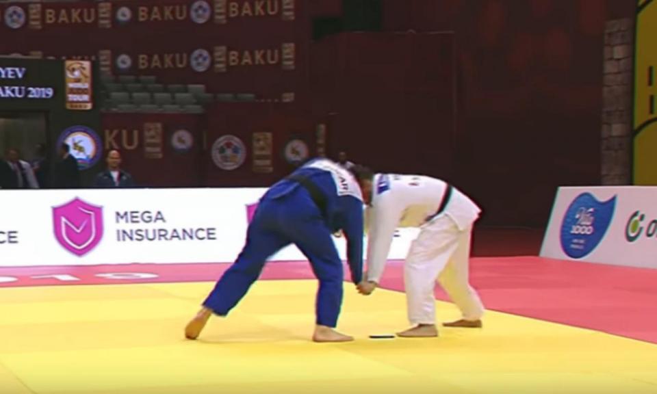 VÍDEO: judoca português vê telemóvel cair do quimono e é eliminado