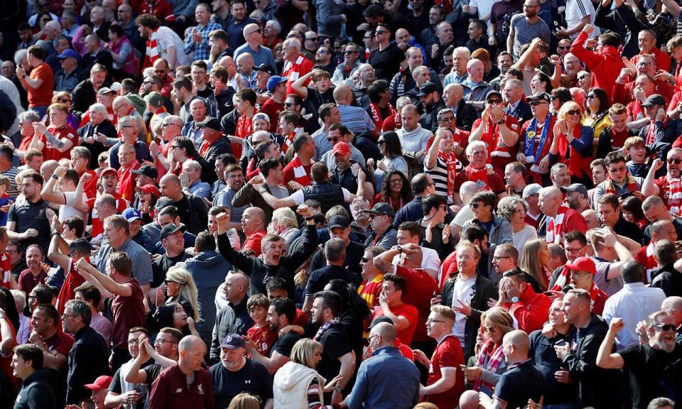 VÍDEO: Liverpool falhou o título, mas os adeptos só têm a agradecer